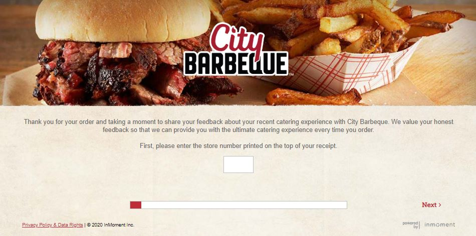City Barbeque Survey