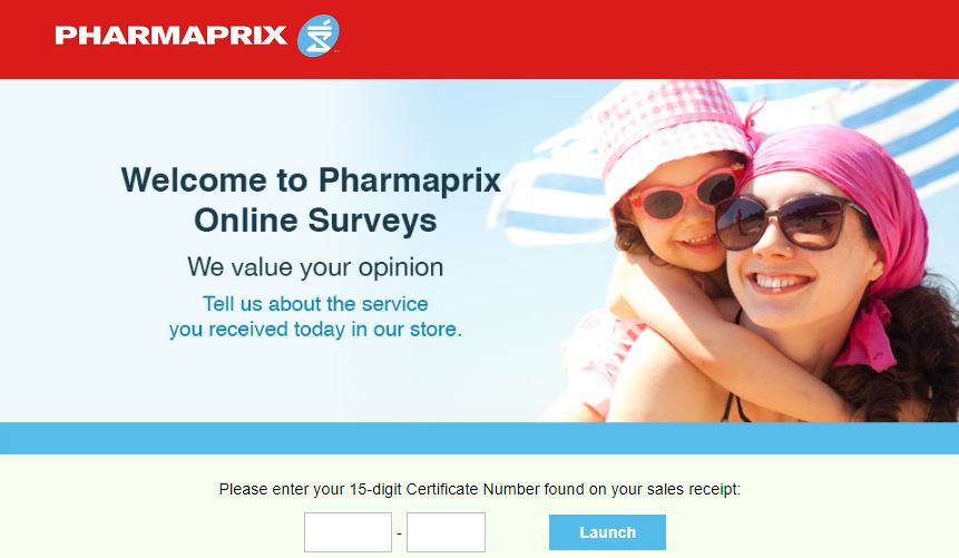 Pharmaprix Pharmacy Survey