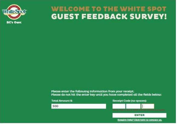 White Spot Survey
